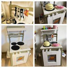 DIY Spielküche aus altem Stuhl!!!