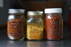 Magnolia and Boothe: Homemade Spice Mixes