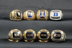 How Many Rings Does Unc Have