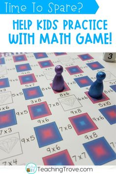 Have 5 minutes to spare - here's a quick and simple math game for the multiplication tables. Five minutes is just enough time to play a whole class math game. Learn more.