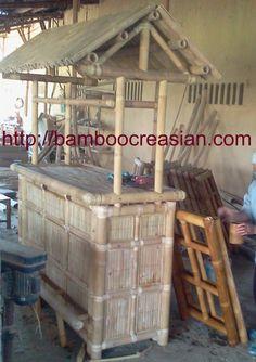 Quality Bamboo And Asian Thatch: U003du003eB Amboo Tiki Bar At Bamboo  Creasian Assembly Bamboo Tiki Bars Set Of Bars Stools + Bar W/ Roof)  DIY,Custom Built Your ...