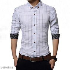 Shirts UD FABRIC Men's Casual Cotton Shirt Fabric: Cotton Sleeve Length: Long Sleeves Pattern: Checked Multipack: 1 Sizes: XL (Chest Size: 42 in, Length Size: 29 in)  L (Chest Size: 40 in, Length Size: 28.5 in)  M (Chest Size: 38 in, Length Size: 27.5 in)  XXL (Chest Size: 44 in, Length Size: 29.5 in)  Country of Origin: India Sizes Available: M, L, XL, XXL   Catalog Rating: ★4 (565)  Catalog Name: Classic Designer Men Shirts CatalogID_3183326 C70-SC1206 Code: 024-16003192-2301