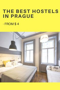 Heading to the Czech Republic and not sure where to stay in Prague? Pick 1 of the following best hostels in Prague and enjoy this magical city in comfort. The Ultimate List of the best hostels in Prague: in this guide, you will find 10 comfortable and cheap hostels (from 4$), where I always return. They are all unique and have a side of magic, so pick your favorite hostel to stay in Prague#hostel#hostellife#prague#cz#czechrepublic#europe#backpacker#backpacking#accommodation #czechia Beautiful Hotels, Most Beautiful Cities, Best Travel Apps, Prague Hotels, Europe Travel Tips, Travel Guides, Prague Travel, Europe Holidays, Places In Europe
