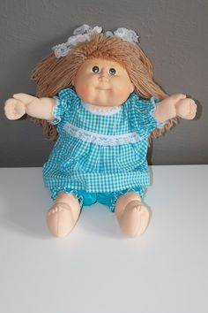 Cabbage Patch Doll Clothes on Etsy, $15.00
