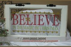 Love this Christmas Vinyl idea on a window.