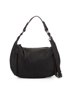 V2J1B Kooba Pamela Hobo Bag, Black