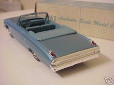 1962 Mercury Monterey Convertible promo model