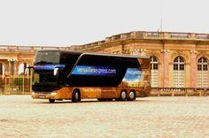 Prenez place à bord de notre autocar de luxe double étage !