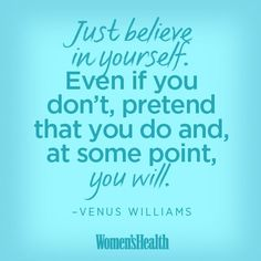 Venus Williams - Motivational Quotes for Your Workout | Women's Health Magazine