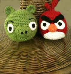Free Pattern - Angry Birds stuffed toy