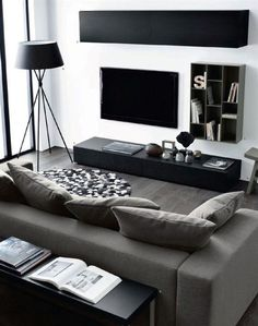 Minimalist Apartment Decor – Modern & Luxury Ideas - Living Room Interior Decorating For Men