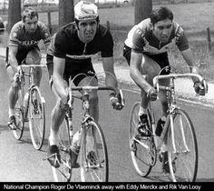 Roger de Vlaeminck & Eddy Merckx