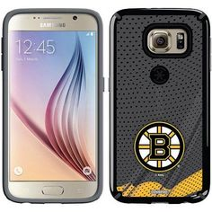 Boston Bruins Home Jersey Design on Samsung Galaxy S6 CandyShell Case by Speck