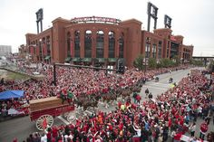 Opening Day Ceremony 2012  St Louis Cardinals!
