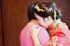 新娘子跟妈妈