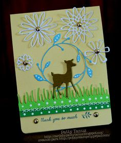 THANK YOU SO MUCH DIECUTS: POPPYSTAMPS SENTIMENT: POPPYSTAMPS by PATTY TANUZ