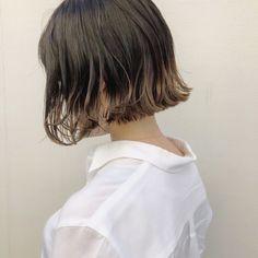 Bangs For Round Face, Short Hair With Bangs, Hairstyles With Bangs, Short Hair Styles, Pretty Woman, Dyed Hair, Hair Cuts, Hair Color, Hair Beauty