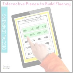 This Digital CVC Phonics and Fluency Reading Intervention Binder is created for use in Google Slides™ and Google Classrooms™. The activities are perfect for decoding short vowels. This resource is packed with interactive activities that are engaging and effective! #phonics #distancelearning #digitallearning #conversationsinliteracy #wordwork #kindergarten #firstgrade 1st grade, kindergarten, second grade