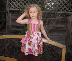 Girl's Triple Ruffle by FooFooThreads, $7.50