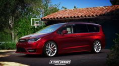 X-Tomi Design: Chrysler Pacifica SRT