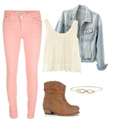 Similar outfit to a YouTube video by macbarbie07.