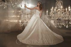 Vestido de Noiva Christina Wu 15567 | Moda Mundo