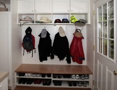 Coat Rack Wall Small Spaces Baskets