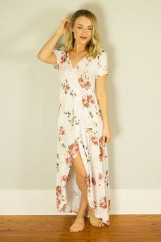Weekend Memories Dress - Ivory – Hazel & Olive $39