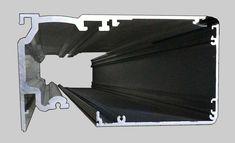 Automatic sliding door ES200 cover 100mm Automatic Sliding Doors, Cover