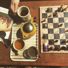 Gray Owl Coffee (Norman, Oklahoma)...where your coffee and chess-playing needs are met!