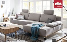 Sitzgarnitur ADA Akita Sectional, Sofa Couch, Decor, Couch, Furniture, Sectional Couch, Home Decor