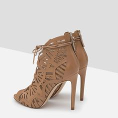 Zara Wraparound Leather Sandal in Leather, £79.99