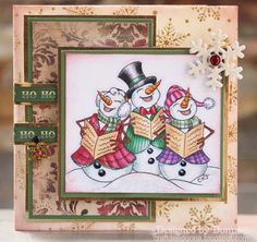Craftdee Donna: It's Snowin' at Sweet Stampin'