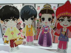 Paper doll..