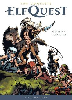 I'm quoted in this Buzzfeed list of the comics that changed people's lives. I wrote about #ElfQuest by Wendy and Richard Pini, natch!