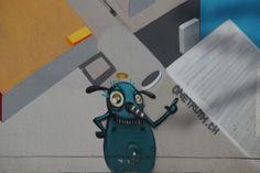 Street Art in Zürich,Graffiti, Schweiz, Urban Art