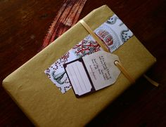 Give a Book Printable Wrapping/ Gift set for books - Fairy Tales Theme.