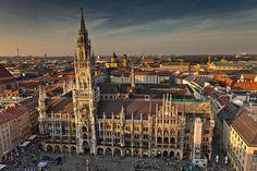 Marienplatz em Munique #viajar