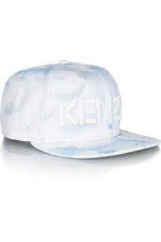 KENZO|New Era cloud-print twill cap|NET-A-PORTER.COM