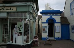Shops, Pubs and High Street scenes of the seaside town of Whitstable, Kent