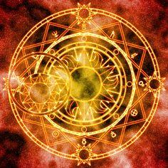 Apollonia Li's Magic Circle by Earthstar01.deviantart.com on @DeviantArt