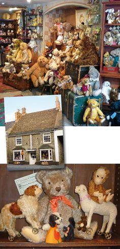 Teddy Bears, 99 High Street, Witney, Oxfordshire, OX28 6HY England UK Tel: 01993 706616 Fax: 01993 702344 alfonzo@witneybears.co.uk