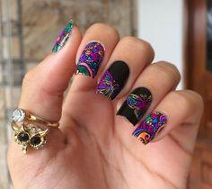 Pedicure Nail Art, Gel Nail Art, Nail Art Diy, Gel Nails, Manicure, Butterfly Nail Art, Beach Nails, Metallic Nails, Summer Acrylic Nails