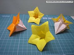 WHAT'S MINE IS OUR: Origami - Flower Balloon - Baloon Flower - Hiromi Hayashi