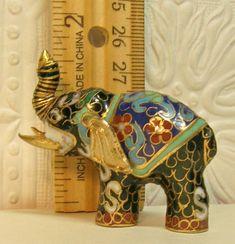 Frugal Elefante In Cloisonnè Asian Antiques