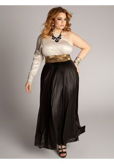 Plus Size Cassandra Infinity Gown image