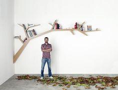 Tree Branch bookcase by Olivier Dollé