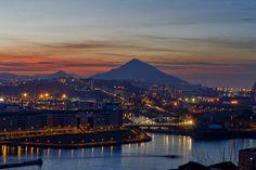 monte Serantes, Serantes, Santurtzi, Santurce, atardecer Serantes, anochecer Serantes, Bizkaia, Vizcaya, Bizkaia costa vasca
