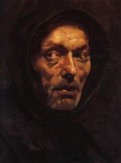 Capuchin Monk by Nikolaos Gyzis.