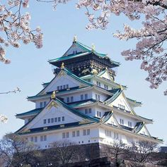 10 Free things to do in Kyoto and Osaka, including Osaka Castle in Spring Tokyo Japan Travel, Japan Travel Tips, Go To Japan, Asia Travel, Japan Trip, Yamaguchi, Osaka Castle, Japanese Castle, Japan Guide